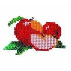 Набор для вышивания бисером Бисеринка Б-0006 «Яблочки» 9*7 см