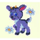 Набор для вышивания бисером Бисеринка Б-0007 «Козлик» 11*11 см