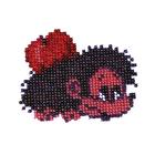 Набор для вышивания бисером Бисеринка Б-0009 «Ежик» 9*7 см