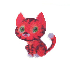 Набор для вышивания бисером Бисеринка Б-0012 «Котик» 9*10 см