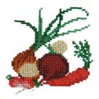 Набор для вышивания бисером Бисеринка Б-0014 «Овощи» 12*11 см