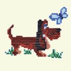 Набор для вышивания бисером Бисеринка Б-0029 «Собачка» 11*9 см