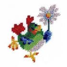 Набор для вышивания бисером Бисеринка Б-0046 «Курочка» 10*11 см