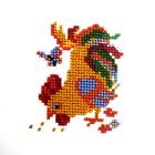 Набор для вышивания бисером Бисеринка Б-0048 «Петушок» 9*8 см