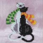 Набор для вышивания бисером Бисеринка Б-0051 «Гламур» 12*12 см