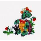 Набор для вышивания бисером Бисеринка Б-0059 «Черепаха» 11*10 см