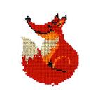 Набор для вышивания бисером Бисеринка Б-0060 «Лис» 10*11 см