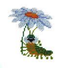 Набор для вышивания бисером Бисеринка Б-0065 «Романтика» 9*11 см