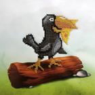Набор для вышивания бисером Бисеринка Б-0080 «Ворона» 20*20 см