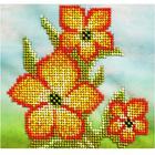 Набор для вышивания бисером Бисеринка Б-0091 «Нарцисс» 15*15 см