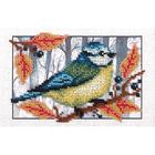 Набор для вышивания бисером Кларт 8-134 «Синичка» 17*12 см