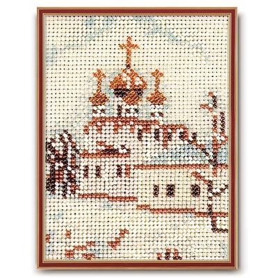 Набор для вышивания бисером Кроше В-047 «Москва. Смоленский собор» в интернет-магазине Швейпрофи.рф