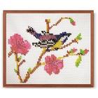 Набор для вышивания бисером Кроше В-096 «Синица» 16*13 см