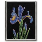 Набор для вышивания бисером Кроше В-142 «Талисман (ирис)» 25*30 см