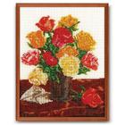 Набор для вышивания бисером Кроше В-145 «Для любимой (розы)» 24*30 см