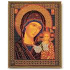 Набор для вышивания бисером Кроше В-148 «Икона Божией Матери Казанская» 19*23 см