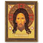 Набор для вышивания бисером Кроше В-149 «Спас Нерукотворный» 19*25 см