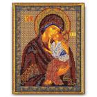 Набор для вышивания бисером Кроше В-152 «Икона Божией Матери Ярославская» 20*25 см