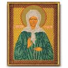 Набор для вышивания бисером Кроше В-155 «Св. Матрона Московская» 20*25 см