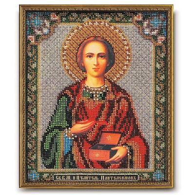 Набор для вышивания бисером Кроше В-159 «Св. Целитель Пантелеймон» 19*23 см в интернет-магазине Швейпрофи.рф