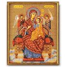 Набор для вышивания бисером Кроше В-172 «Богородица Всецарица» 21*26 см