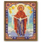 Набор для вышивания бисером Кроше В-174 «Богородица Покрова» 20*25 см