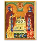 Набор для вышивания бисером Кроше В-180 «Св. Петр и Феврония» 20*25 см