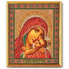 Набор для вышивания бисером Кроше В-183 «Касперовская Богородица» 19*23 см