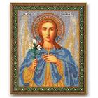 Набор для вышивания бисером Кроше В-184 «Архангел Гавриил» 19*23 см