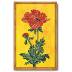 Набор для вышивания бисером Кроше В-220 «Фаворит (мак)» 22*33 см