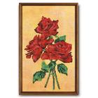 Набор для вышивания бисером Кроше В-225 «Красное трио (розы)» 27*36 см