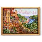 Набор для вышивания бисером Кроше В-239 «Райский уголок» 38*27 см