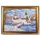 Набор для вышивания бисером Кроше В-240 «Рождественская сказка» 38*27 см