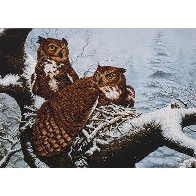 Набор для вышивания бисером МК Б-020 «Семейное гнездо» 50,5*36,5 см в интернет-магазине Швейпрофи.рф