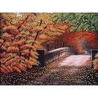 Набор для вышивания бисером МК Б-085 «Осенний мостик» 40*30 см