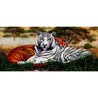 Набор для вышивания бисером МК Б-237 «Саванна. Тигры» 25,5*55 см