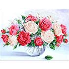 Набор для вышивания бисером МК Б-256 «Пьянящий аромат роз» 35*25 см