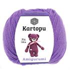 Пряжа Амигуруми (Kartopu Amigurumi) 49% 50 г/ 130 м  1709 сиреневый