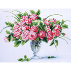 Набор для вышивания бисером МК Б-301 «Чайные розы» 28*38 см