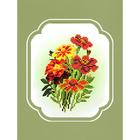 Набор для вышивания бисером МП 0078/БП «Бархатцы» 18*24 см