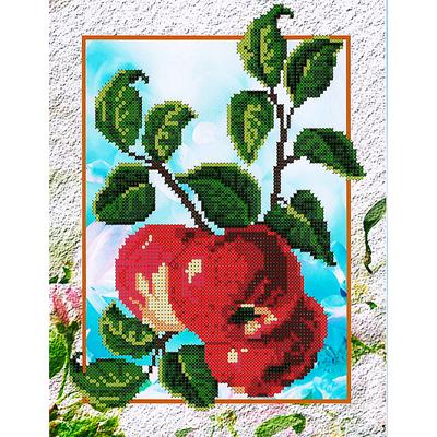Набор для вышивания бисером Наследие НДА4-043 «Яблочки» 24*32 см в интернет-магазине Швейпрофи.рф