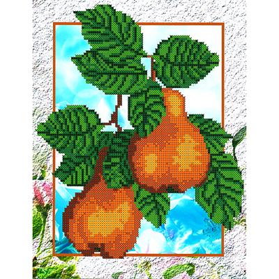 Набор для вышивания бисером Наследие НДА4-044 «Груши» 24*32 см в интернет-магазине Швейпрофи.рф