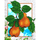 Набор для вышивания бисером Наследие НДА4-044 «Груши» 24*32 см