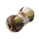 Пряжа Ангора голд батик (Angora Gold Batik), 100 г/ 550 м, 1893 корич.-зел.-белый