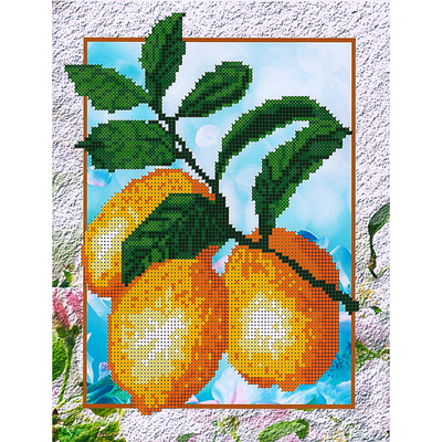 Набор для вышивания бисером Наследие НДА4-045 «Лимоны» 24*32 см в интернет-магазине Швейпрофи.рф