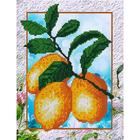 Набор для вышивания бисером Наследие НДА4-045 «Лимоны» 24*32 см