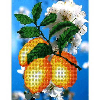 Набор для вышивания бисером Наследие НДА4-049 «Лимоны 2» 24*32 см в интернет-магазине Швейпрофи.рф
