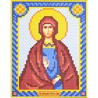 Набор для вышивания бисером Наследие НДА5-114 «Св. Ева» 12*16 см