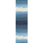 Пряжа Ангора голд батик (Angora Gold Batik), 100 г/ 550 м, 1899 синий+голуб.+белый
