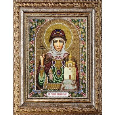 Набор для вышивания бисером Паутинка Б-1001 «Св. Княгиня Ольга» 24*31 см в интернет-магазине Швейпрофи.рф
